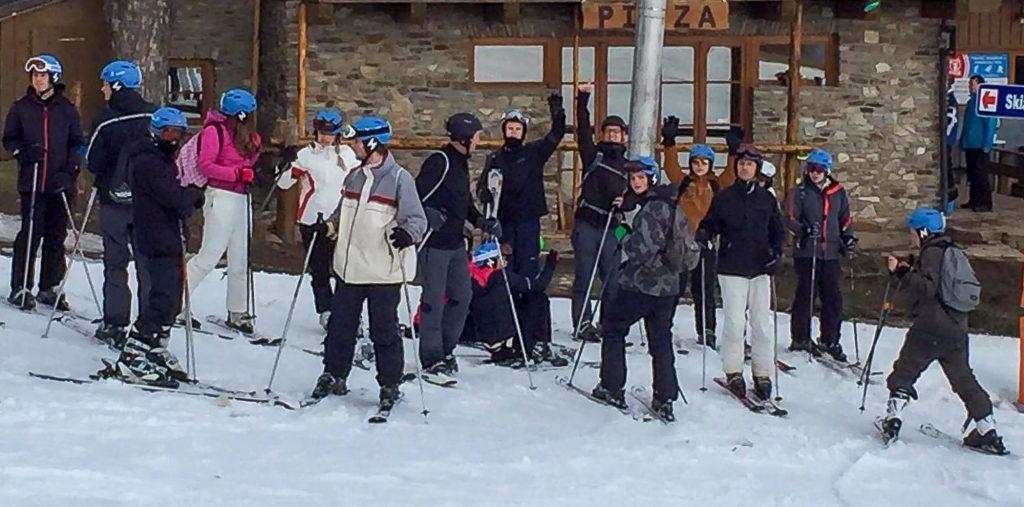 Wintersportkamp Tsjechië