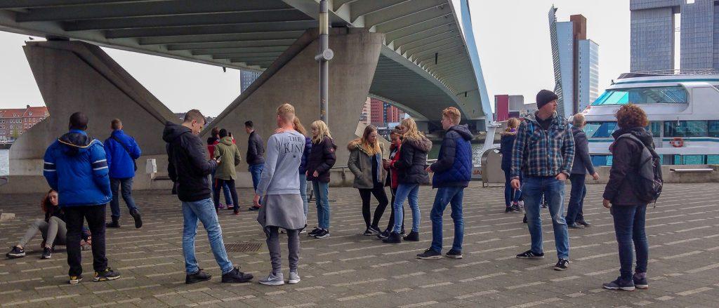 Schoolreis Rotterdam tweede groep